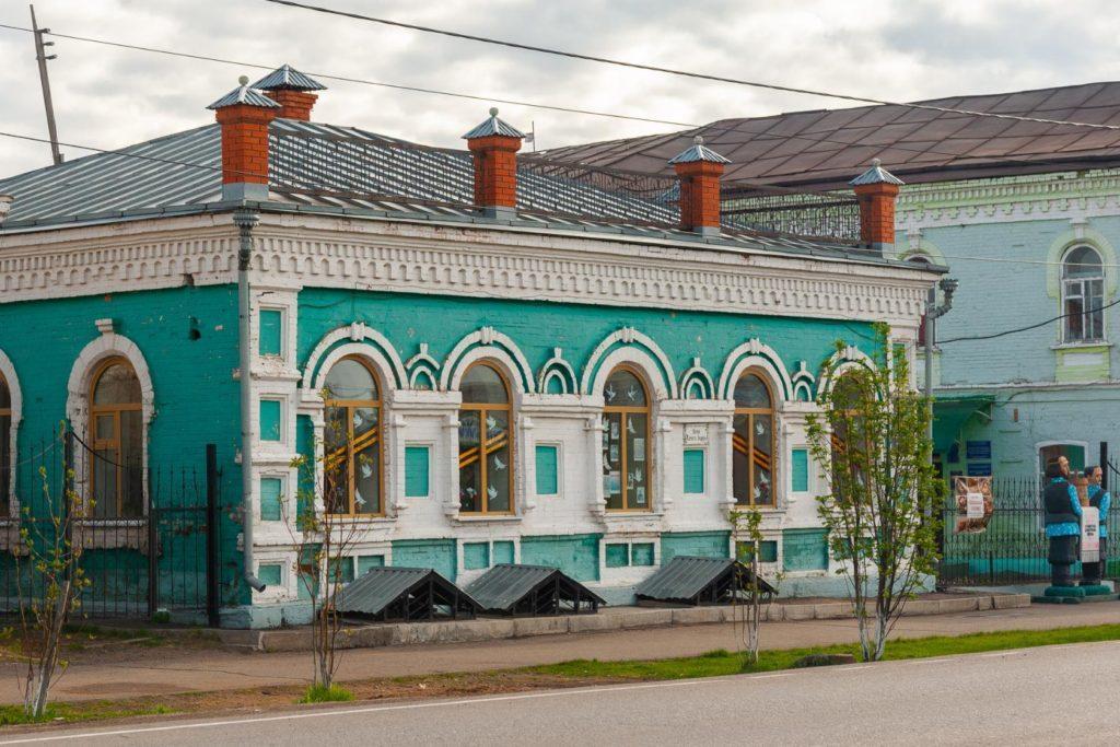 mariinsk-музей бересты