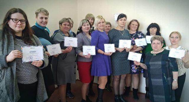 Мастерские с педагогами седьмой школы Мариинска