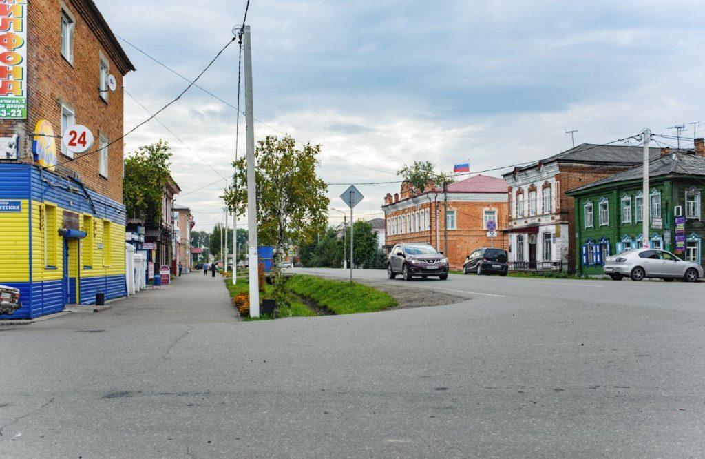 mariinsk-улица ленина