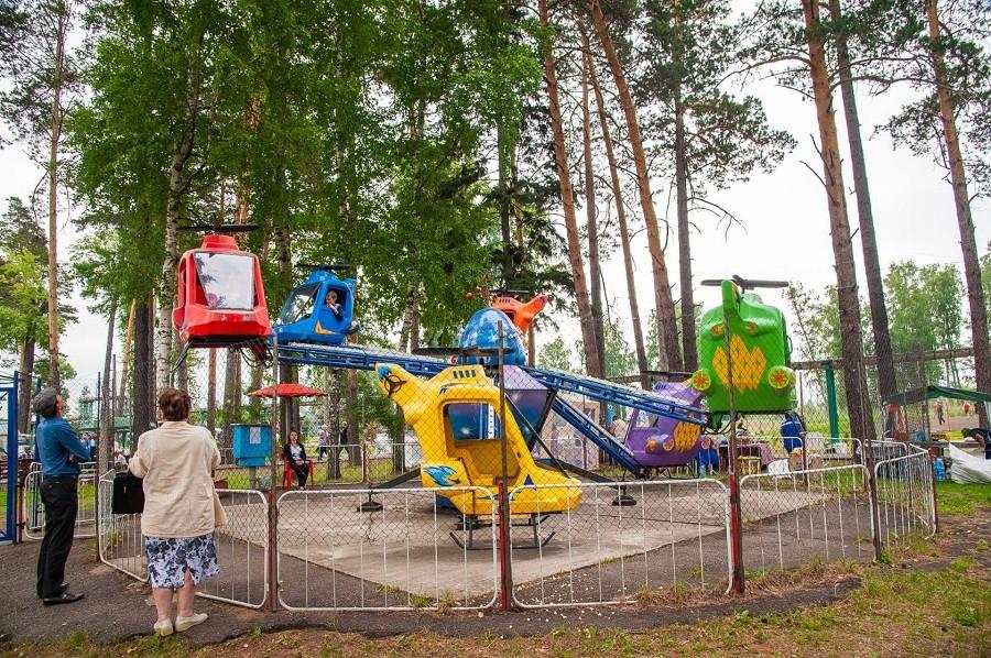 Мариинск: горсад
