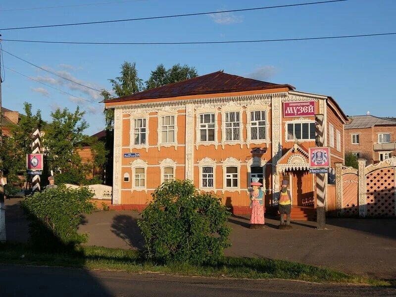 Мариинск,старый краеведческий